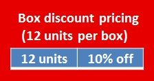 box by 12 10 percent off